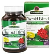 Nature's Answer - Thyroid Complete Extractacaps - 90 Vegetarian Capsules, from category: Nutritional Supplements
