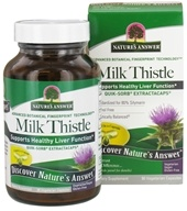Nature's Answer - Milk Thistle Extractacaps - 90 Vegetarian Capsules (083000265303)