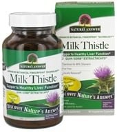 Nature's Answer - Milk Thistle Extractacaps - 90 Vegetarian Capsules, from category: Herbs