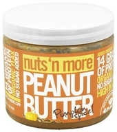Nuts N More - Pumpkin Spice Peanut Butter - 16 oz., from category: Health Foods