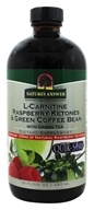 Nature's Answer - L-Carnitine Raspberry Ketones & Green Coffee Bean Liquid - 16 oz.