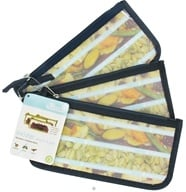 Blue Avocado - (Re)Zip Snack Reusable Storage Bags Navy Solid - 3 Pack by Blue Avocado