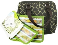 Image of Blue Avocado - Basic Duffle Kit Green Giraffe - 4 Piece(s) CLEARANCE PRICED