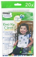 Image of Summer Infant - Keep Me Clean Disposable Bibs 6 Months + - 20 Count CLEARANCE PRICED