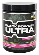 Image of MRI: Medical Research Institute - Black Powder Ultra Pre-Workout Amplifier 40 Servings Watermelon - 240 Grams