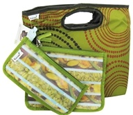 Image of Blue Avocado - Lunch Clutch Kit Green Avodot - 3 Piece(s)