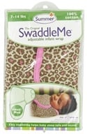 Summer Infant - The Original SwaddleMe Adjustable Infant Wrap Small/Medium 7-14 Pounds Leopard (012914721155)