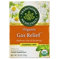 Traditional Medicinals - Organic Gas Relief Tea - 16 Tea Bags