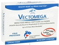 EuroPharma - Terry Naturally Vectomega Whole Food Omega-3 DHA/EPA Complex - 30 Tablets - $20.81