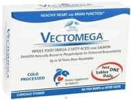 EuroPharma - Terry Naturally Vectomega Whole Food Omega-3 DHA/EPA Complex - 30 Tablets