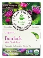 Traditional Medicinals - Organic Herbal Tea Burdock - 16 Tea Bags, from category: Teas
