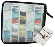 Blue Avocado - (Re)Zip Travel Reusable Storage Bag Medium Black (812613015117)