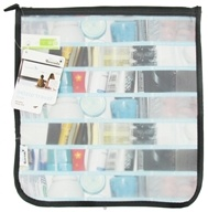 Image of Blue Avocado - (Re)Zip Travel Reusable Storage Bag Large Black