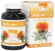 Bio Nutrition - Safflower Oil 1000 mg. - 90 Softgels - $10.99