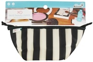 Image of XO Eco - (ECO) Beauty Clutch Tuxedo Stripe
