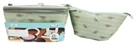XO Eco - (ECO) Beauty Pak Beauty Clutch + Brush Boxe Birds On A Wire - LUCKY DEAL
