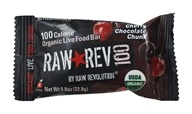 Raw Revolution - Organic Live Food Bar Raw Rev 100 Calorie Cherry Chocolate Chunk - 0.8 oz. by Raw Revolution