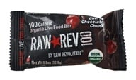 Image of Raw Revolution - Organic Live Food Bar Raw Rev 100 Calorie Cherry Chocolate Chunk - 0.8 oz.