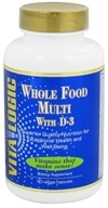 Vita Logic - Whole Food Multi with D3 - 90 Vegetarian Capsules