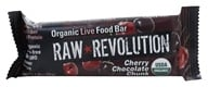 Raw Revolution - Organic Live Food Bar Cherry Chocolate Chunk - 1.8 oz.