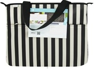Image of XO Eco - (ECO) Laptop Bag Tuxedo Stripe