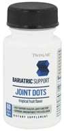 Twinlab - Bariatric Support Joint Dots Tropical Fruit Flavor - 60 Micro Tablets by Twinlab