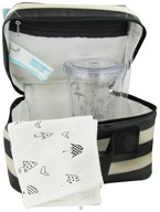 XO Eco - (ECO) Lunch Kit Tuxedo Stripe - 3 Piece(s), from category: Housewares & Cleaning Aids