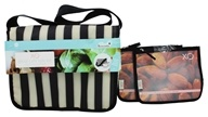 XO Eco - (ECO) Cafe Tote Kit Tuxedo Stripe - 3 Piece(s) CLEARANCE PRICED