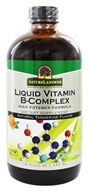 Image of Nature's Answer - Liquid Vitamin B-Complex Natural Tangerine Flavor - 16 oz.