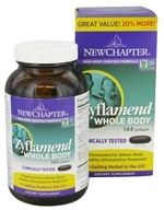 New Chapter - Zyflamend Whole Body Bonus Size - 144 Softgels (727783040589)