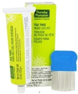 Thursday Plantation - Tea Tree Head Lice Kit (717554080296)