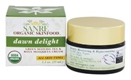 Image of SanRe Organic Skinfood - Dawn Delight Facial Cream Matcha Green Tea and Rosa Mosqueta - 1.1 oz.