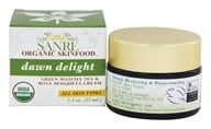 SanRe Organic Skinfood - Dawn Delight Green Matcha Tea and Rosa Mosqueta Cream - 1.1 oz.