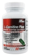 Top Secret Nutrition - L-Carnitine Plus Green Coffee Extract - 60 Capsules - $17.77