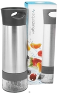 Zing Anything - Aqua Zinger Flavored Water Maker Grey - 20 oz. by Zing Anything