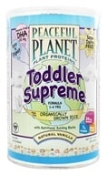 VegLife - Peaceful Planet Plant Proteins Toddler Supreme Formula - 14 oz., from category: Health Foods