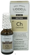 Liddell Laboratories - Ch Chemicals Detox Homeopathic Oral Spray - 1 oz.