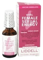 Liddell Laboratories - Vital Female Sexual Energy Homeopathic Oral Spray - 1 oz.