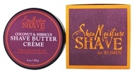 Shea Moisture - Coconut & Hibiscus Shave Butter Creme for Women - 6 oz.