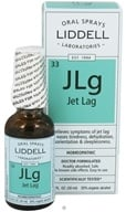 Liddell Laboratories - JLg Jet Lag Homeopathic Oral Spray - 1 oz. (363113275964)
