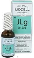 Liddell Laboratories - JLg Jet Lag Homeopathic Oral Spray - 1 oz. by Liddell Laboratories