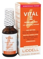 Liddell Laboratories - Vital II Hormone Free with Ginseng Extract Homeopathic Oral Spray - 1 oz. by Liddell Laboratories