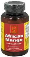 Image of African Red Tea Imports - African Mango Pure Seed Powder 500 mg. - 100 Vegetarian Capsules
