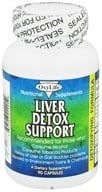 Oxylife Products - Live Detox Support - 90 Capsules, from category: Detoxification & Cleansing