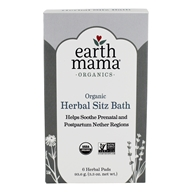 Earth Mama Angel Baby - Post-Partum Bath Herbs - 6 Pad(s) by Earth Mama Angel Baby