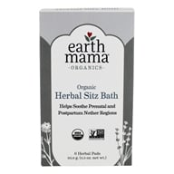 Earth Mama Angel Baby - Post-Partum Bath Herbs - 6 Pad(s) - $4.49