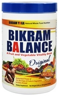 Bikram Balance - Fruit and Vegetable Vitality Drink Original Flavor - 10 oz., from category: Health Foods