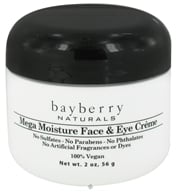 Image of Bayberry Naturals - Face & Eye Creme Mega-Moisture - 2 oz.
