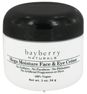 Bayberry Naturals - Face & Eye Creme Mega-Moisture - 2 oz., from category: Personal Care