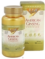 Prince of Peace - American Ginseng 500 mg. - 50 Capsules, from category: Herbs